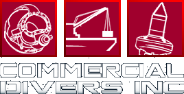 Commercial Divers Inc. logo